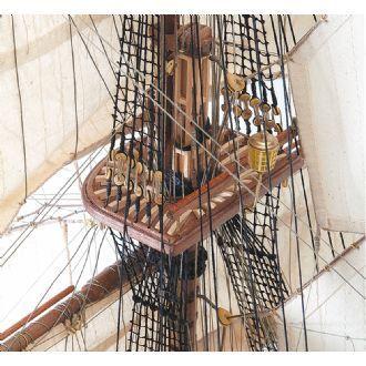 Maqueta de barco en madera: Navío Santa Ana