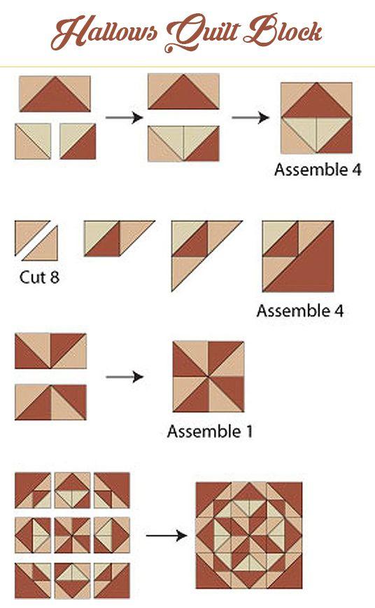 Hallows Quilt Block Pattern
