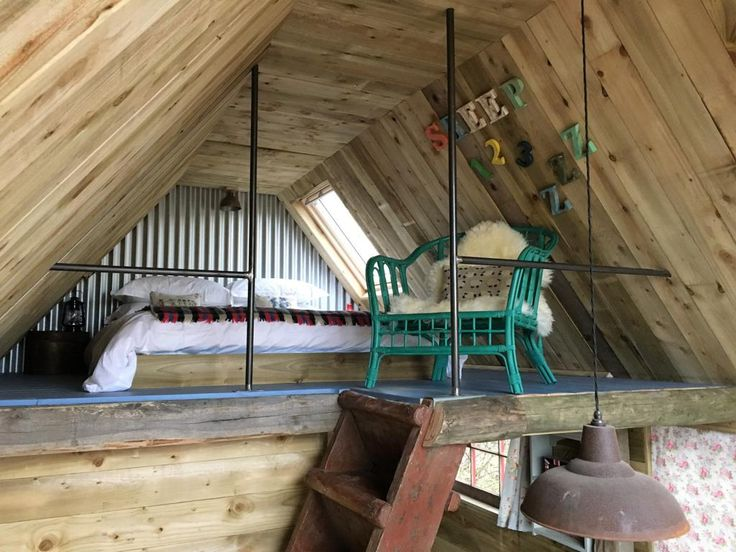Relax and unwind at the Sheep Shed - Glamping in Aberdeenshire