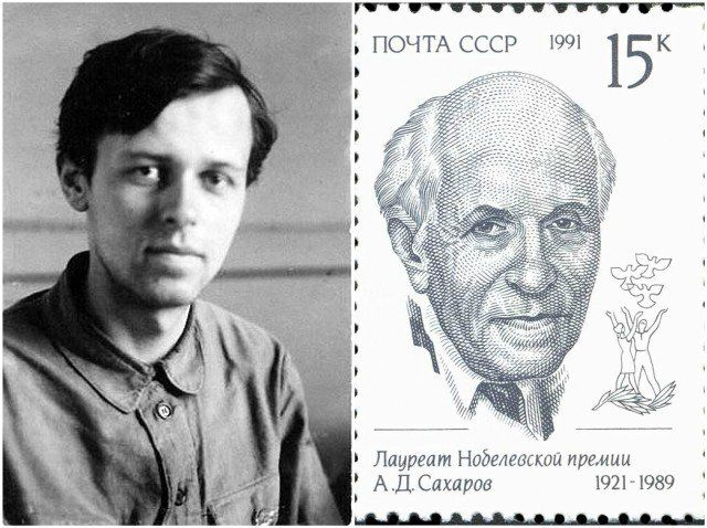 Andrei Sakharov - the father of the Soviet hydrogen bomb later became a dissident to the Soviet regime, and in 1975 he was awarded the Nobel Peace Prize