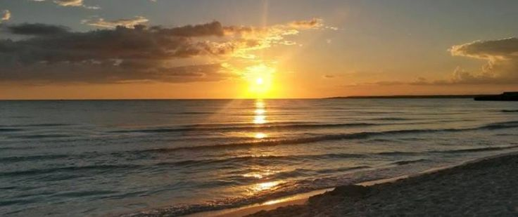 Sunset at Ses Covetes beach Picture done by Taylor Wimpey Spain worker.