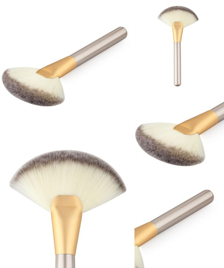 [Visit to Buy] OuTTop best seller Makeup Large Fan Goat Hair Blush Face Powder Foundation Cosmetic Brush #30 #Advertisement