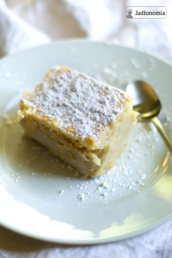 jadłonomia • przepisy wegetariańskie: Wegańska napoleonka, czyli zdrowsza siostra znanego ciastka