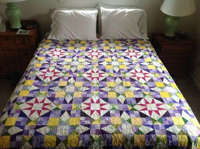 En Provence, Quiltville mystery 2016, quilted/bound/labeled!