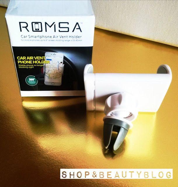 Tester Shop&BeuatyBlog: Romsa,un Supporto Auto di piccole dimensioni, ma d...