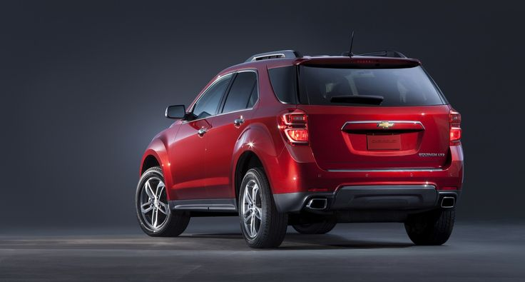 2016 Chevrolet Equinox | GM Authority - 2016 Chevrolet Equinox Ltz Rear 3/4