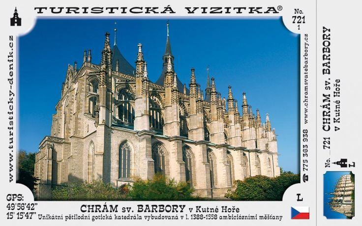CZ-721 - Chrám sv. Barbory v Kutné Hoře