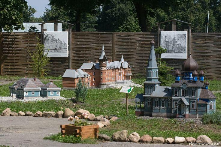 Podlasie Monuments Miniature Park in Hajnówka