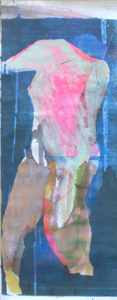 """Saatchi Art Artist ALINA FEDOTOVA; Painting, """"sleeping pink women"""" #art"""