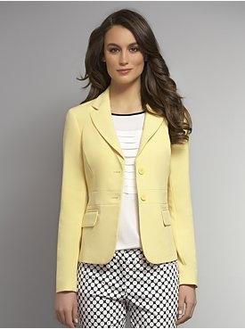 The Manhattan Crepe Jacket