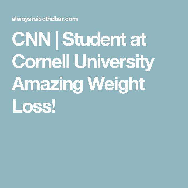 CNN | Student at Cornell University Amazing Weight Loss!