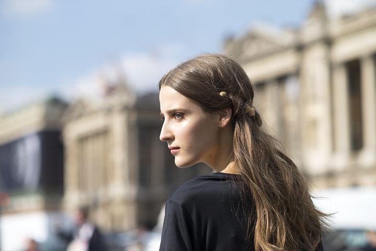 Etherial Ain't Nothin. #Valentino #SS15 #PFW #beauty Polaris Journal.