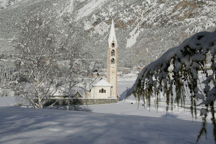 S. Gallo Church in #Valdidentro: a piece of history!  #culture #winter #Valdidentro #traditions