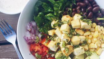 L'été dans ton assiette : salade burrito au tofu