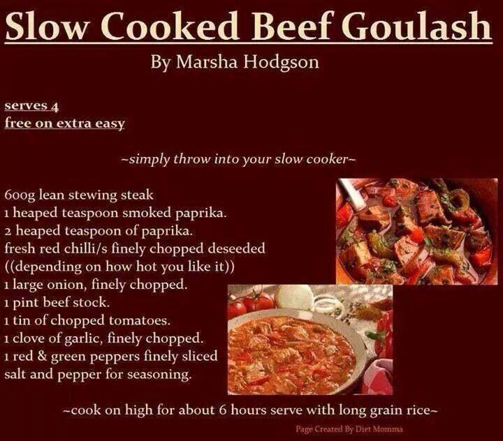 slimming world slow cooker beef goulash #crockpot