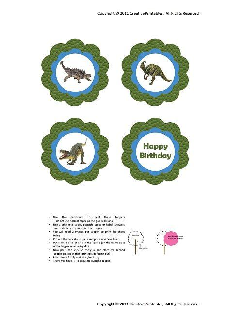 Dino Cupcake Toppers.pdf - OneDrive