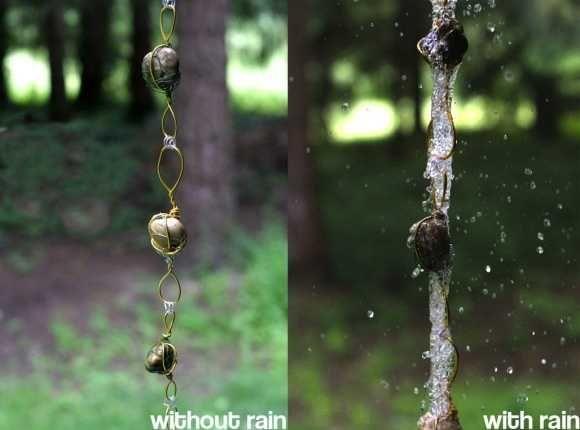 30 Amazing Downspout Ideas, Splash Guards, Charming Rain Chains and Creative Rain Ropes