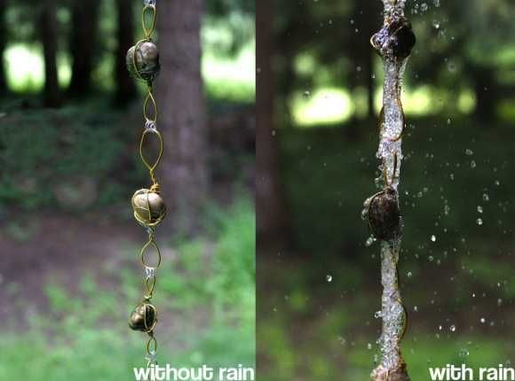 30 Amazing Downspout Ideas, Splash Guards, Charming Rain Chains and Creative Rain Ropes
