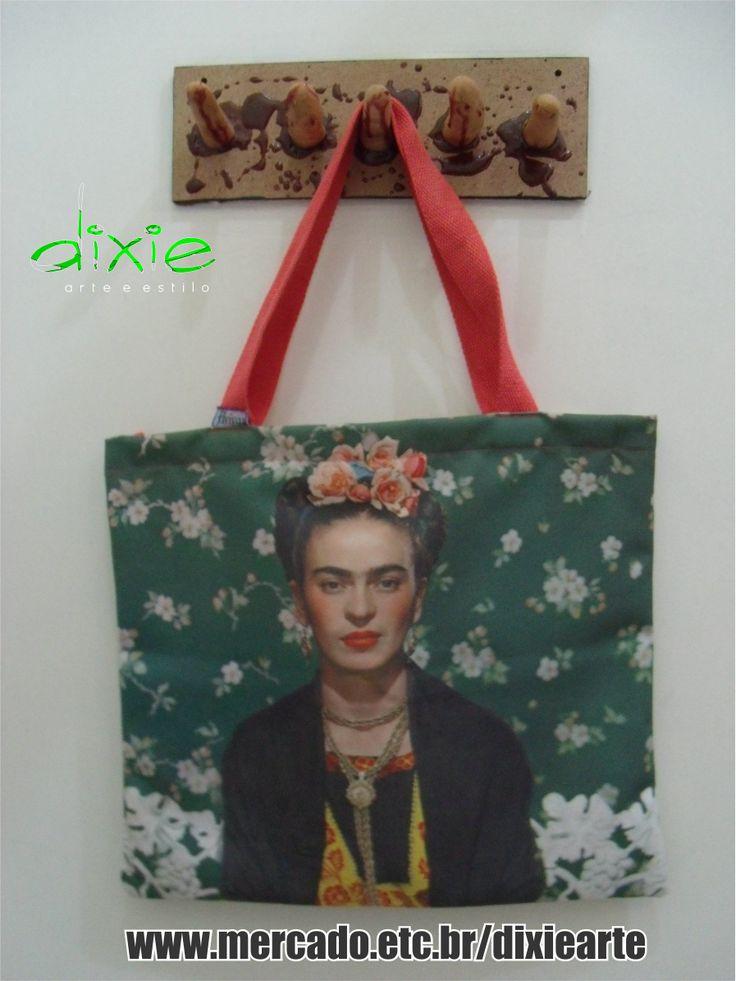 Bolsa Frida  www.elo7.com.br/dixiearte