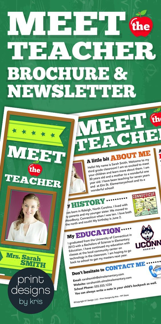 25 best ideas about the flyer on pinterest flyer design for Meet the teacher brochure template