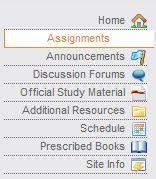 Written assignments unisa