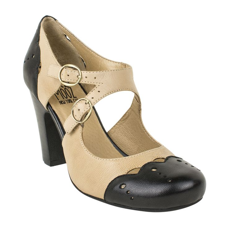 Channel the 1940s with the Joni Heel from Miz Mooz!