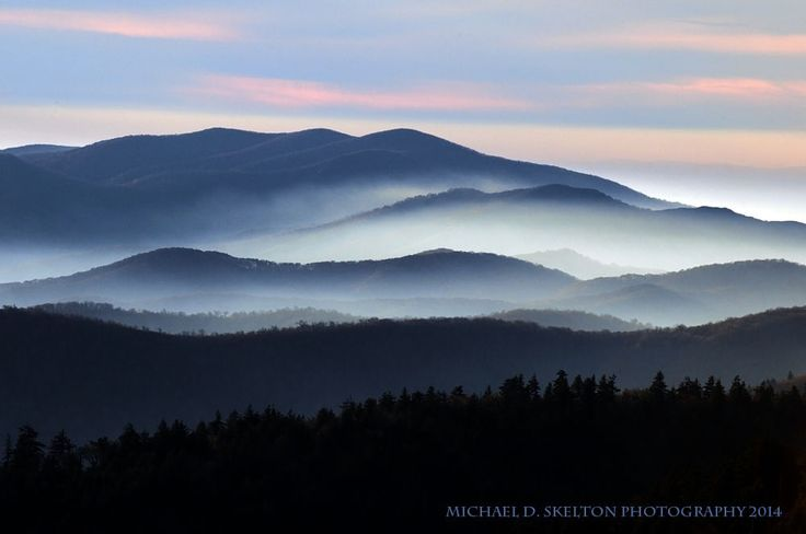 Smoky Tops by Michael Skelton on 500px