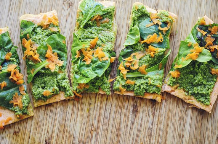Red Lentil Flatbread (Gluten Free, Vegan)