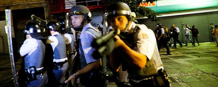 Scars of Police Brutality in Brazilian Protests Haunt World Cup Kickoff