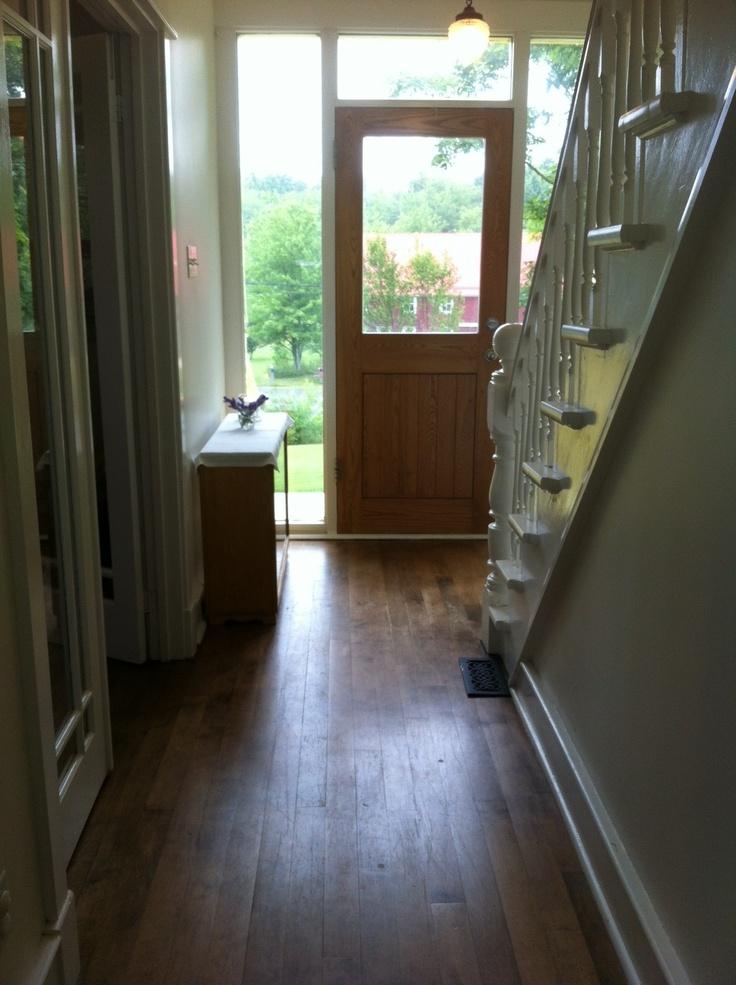 Downstairs hallway.