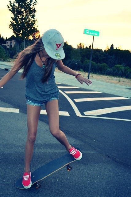 Girls and Skates