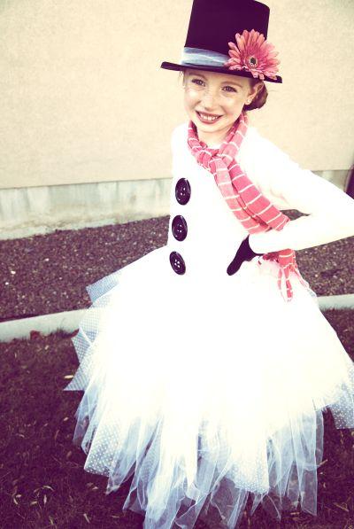 Snowman Halloween costume - cute!