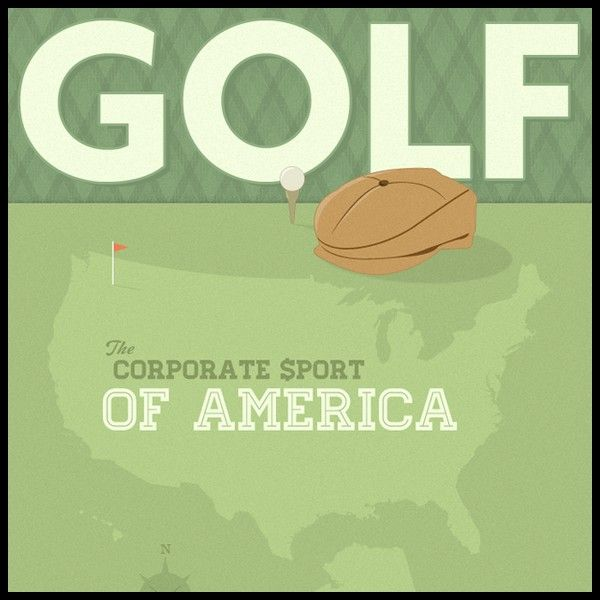 Golf the Corporate Sport of America 2011