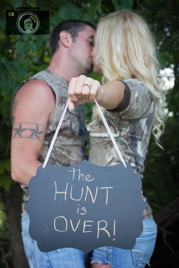 The hunt is over. I will probably have an engagement picture like this.