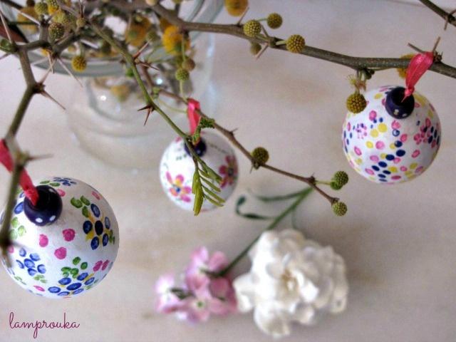 Πασχαλινή διακόσμηση με κλαδιά και αυγά!