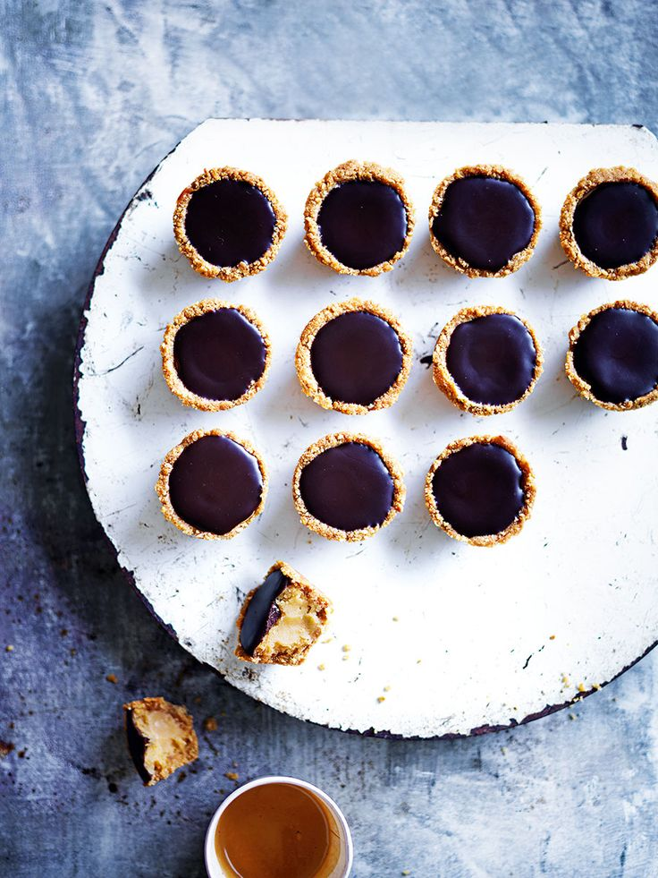 They're the perfect snack size, and you'll find it impossible to stop at just one of Simmone Logue's caramel kisses!