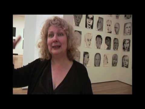 Marlene Dumas: Measuring Your Own Grave, on view at MoMA