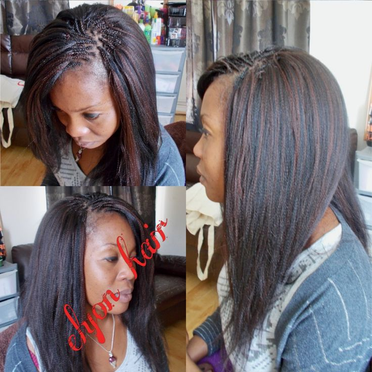 Crochet Xpression Hair : Crochet braids + pick n drop done with xpression Protective Styles ...