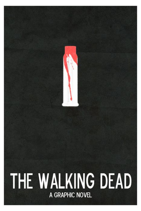 Minimal Movie Posters - The Walking Dead by Brandon Lyons