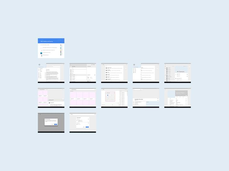 Android L Tablet UI Template (.sketch) by Vincent Tantardini