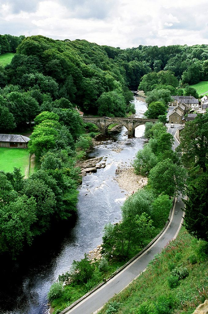 Richmond, North Yorkshire, England #WOWattractions
