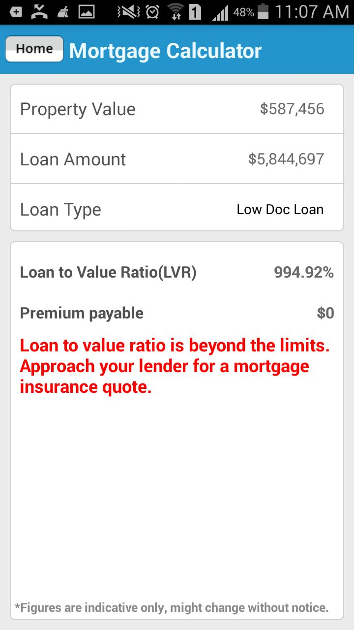 Know the #mortgage repayments for your property purchase using #LoansDirect #MortgageCalculator smartphone app.