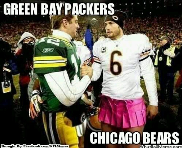 Packers Jokes - Bear Goggles On