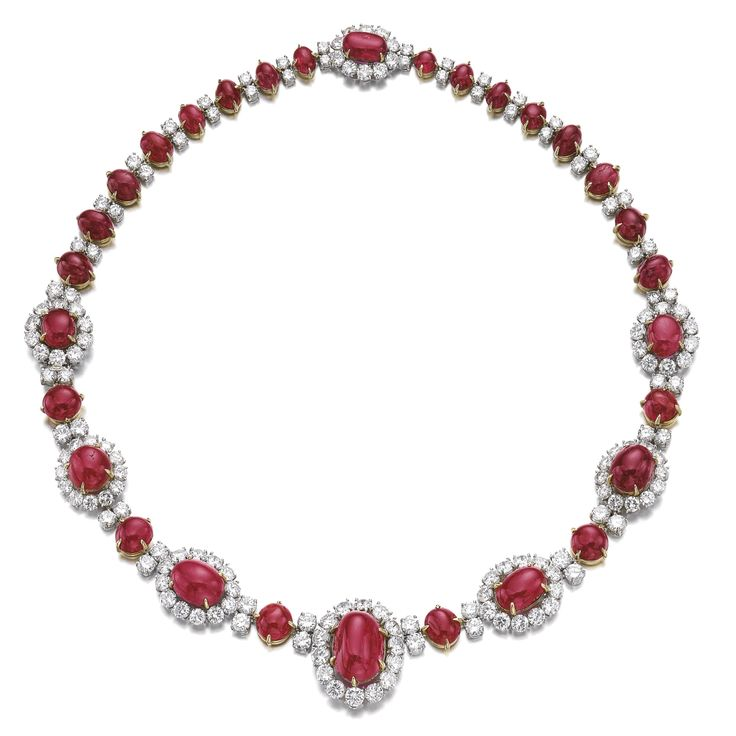 Ruby and diamond necklace, Van Cleef & Arpels, 196…