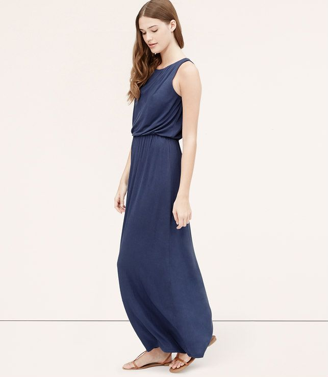 The loft maxi dress