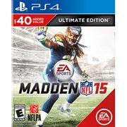 New release or price change: Video Games product - Madden NFL 15 Ultimate Edition (PS4) from Video Games on comparizoom.com. Comparizoom - the only place on the web to search Amazon, Walmart, Ovestock and eBay at the same time