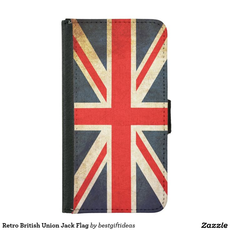 Retro British Union Jack Flag Samsung Galaxy S5 Wallet Case