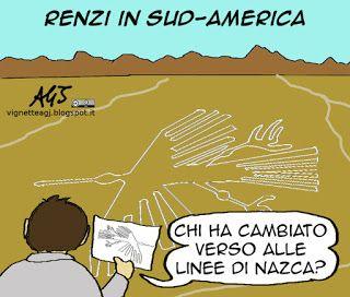 Renzi, sud-america, diario di viaggio, cambiaverso