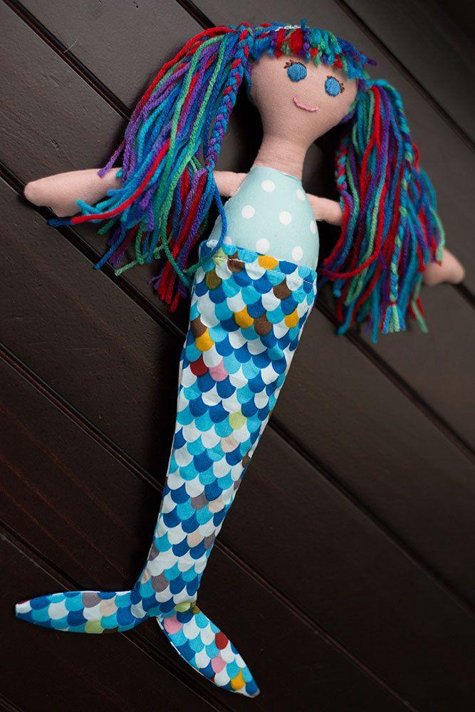 Emma - 31cm Mermaid Rag Doll  Listing is for 1x Mermaid Rag Doll  Emma   Emma comes with a removable Merm...   https://nemb.ly/p/41lpMJ2xrZ Happily published via Nembol