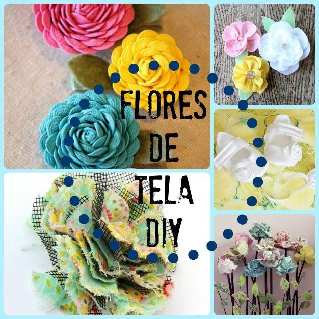 5 ideas de flores de tela DIY que vas a querer hacer